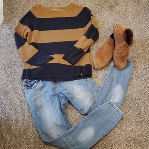 Zara Boys Pull Over Knit Sweater EUC!!